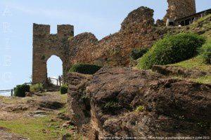 Deuxième entrée - Château de Lordat