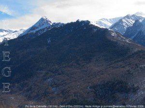 Pic de la Calmette (1911m) - Dent d'Orlu (2222m)