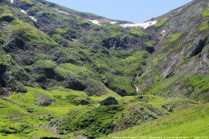 Cabane des Puges (1700m) - Col d'Auarde (1954m)
