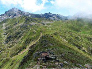 Pic des Calmettes (2417m) - Col de Terre Nègre