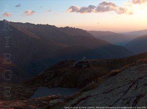Etang et refuge du Pinet (2224m)