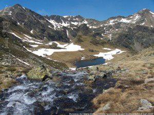 Ruisseau de l'étang Blaou (2335m)