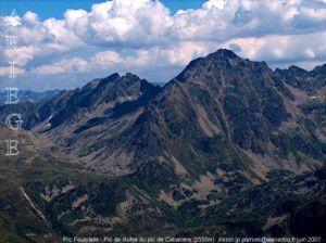 Pic Fourcade - Pic de Rulhe du pic de Cabaillère (2555m)