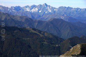 Mont Valier vu du mont Ceint (2088m)