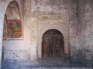 Porche sud (XVIème siècle) - Notre-Dame de Tramesaygues - Audressein