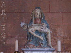Piéta - Notre-Dame de Tramesaygues - Audressein