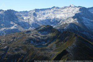 Pique Rouge de Bassies vue du mont Ceint (2088m)