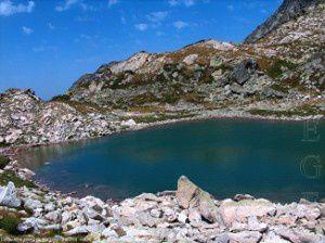 Cinquième étang de Madides (2402m)