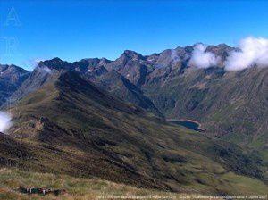 Vallée d'Arties de la pique d'Endron (2412m)