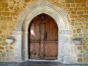 Portail - Eglise Saint-Pierre de Montgauch