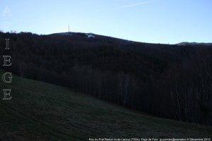 Roc du Prat de Redon vu de Lacout (750m)