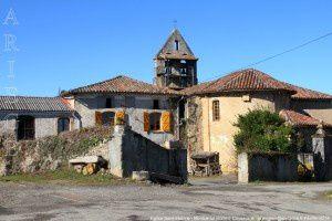 Eglise Saint-Etienne - Montseron (500m)