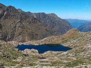 Premier étang de la Gardelle (2390m)