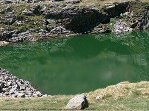 Deuxième étang de la Gardelle (2380m)