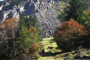 Ancienne mine de talc de Fangas (1450m)