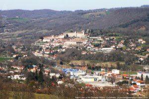 Saint-Lizier vu de Gloriette (560m)