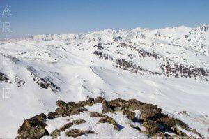 Massif andorran vu du pic de la Mina (2683m)