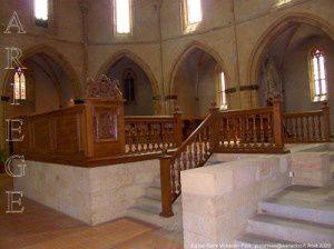 Eglise Saint-Volusien - Stalles du XVIIème siècle