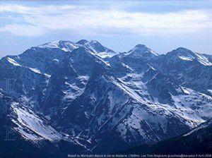 Massif du Montcalm depuis le pla de Madame (1906m)