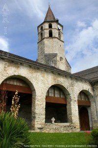 Eglise Saint-Pierre - Galey (830m)