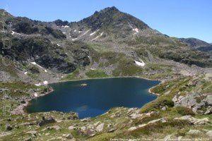 Estany segon de Juclar (2294m)