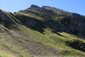 Cap de Ruhos vu du col de Crusous (2203m)