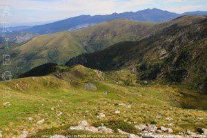 Jasse de Pinardel - Jasse de Peyriguels vues du pic du Midi de Siguer (2003m)