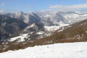 Vallée de Balaguères vue du cap de Broc (810m)