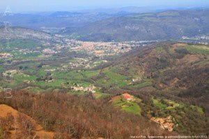Vue sur Foix
