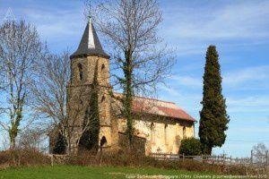 Eglise Saint-André - Montagagne (770m)
