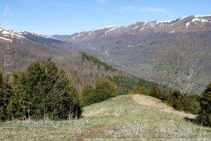Vallée de Saurat vue du Sommet du Mont (1196m)