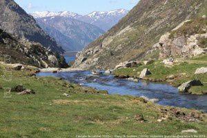 Cascade de Labinas (1780m) - Etang de Soulcem (1600m)