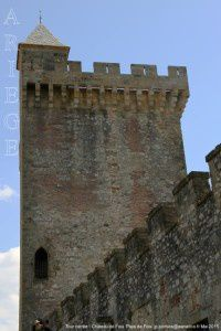 Tour carrée - Château de Foix