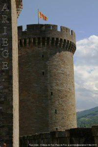 Tour ronde - Château de Foix