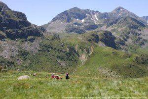 Fontargente vu du refuge du Rulhe (2185m)