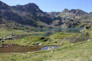 Grand étang de Fontargente (2150m)