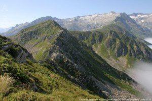 Cirque de Bassies vu du mont Garias (2006m)