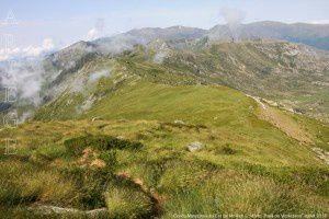 Col du Morech vu du Cot de Morech (2145m)