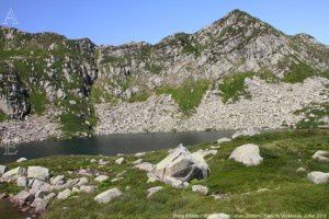 Etang d'Alate (1868m) - Mont Garias (2006m)