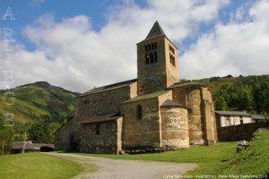 Eglise Saint-Julien - Axiat (881m)
