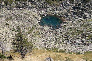 Petit étang de la Camisette (2150m)