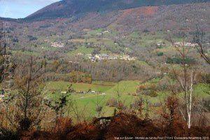 Vue sur Soulan - Montée au tuc du Four (711m)