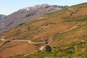 Monts de l'Arize vus du roc du Traucadou (1374m)