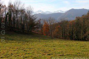Monts du Biros vus de Paracoch (672m)