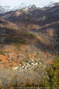 Pic du Han - Senconac vus du Sommet de Crouzille (1153m)