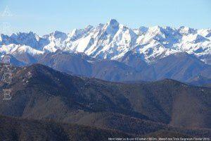 Mont Valier vu du pic d'Estibat (1663m)