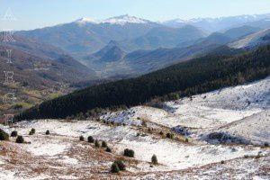 Vue sur la vallée de Saurat - Montée au pic d'Estibat (1663m)