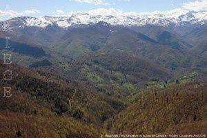 Massif des Trois-Seigneurs vu du cap de Campets (1504m)