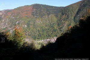 Orlu vu du Roc de la Péra (1190m)