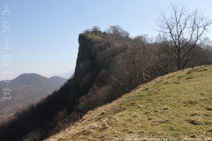 Cap de la Pène vu de la Petite Pène (830m)